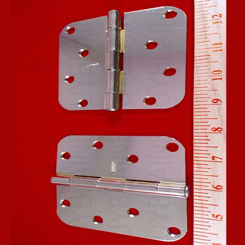 brass 4 inch x 4 inch door hinges