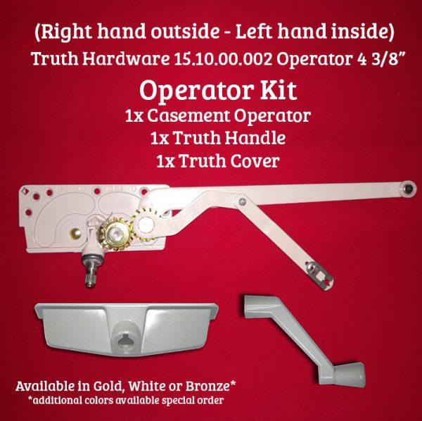 Truth EntryGard 15.10.00.002 RH Casement operator kit
