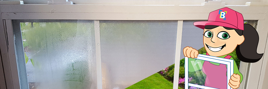 foggy insulated glass