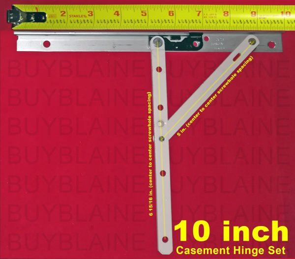 10 inch casement hinge